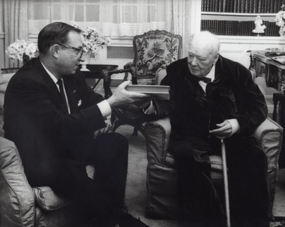 Carl Foreman, Winston Churchill