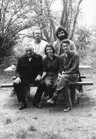 Richard Burton, Michael Radford, Suzanna Hamilton, Simon Perry, John Hurt