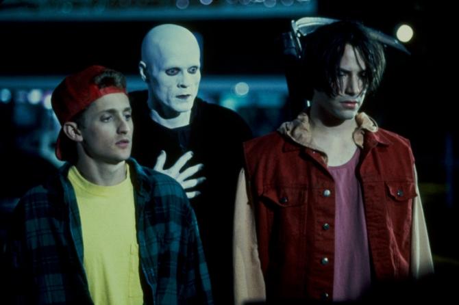 Alex Winter, William Sadler, Keanu Reeves