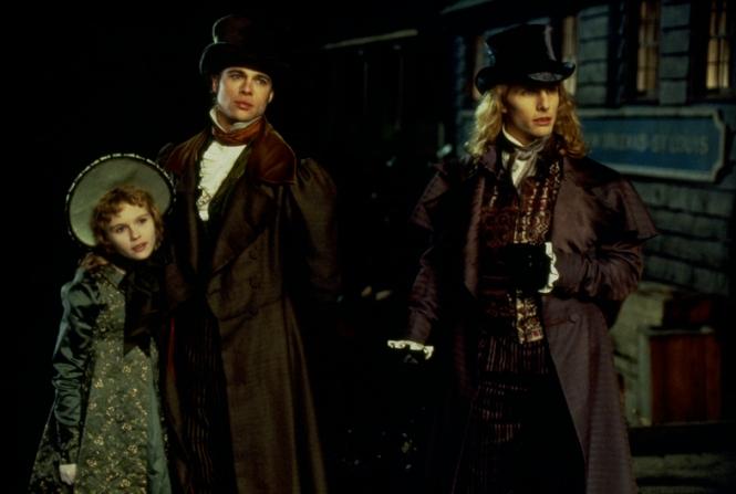 Kirsten Dunst, Brad Pitt, Tom Cruise