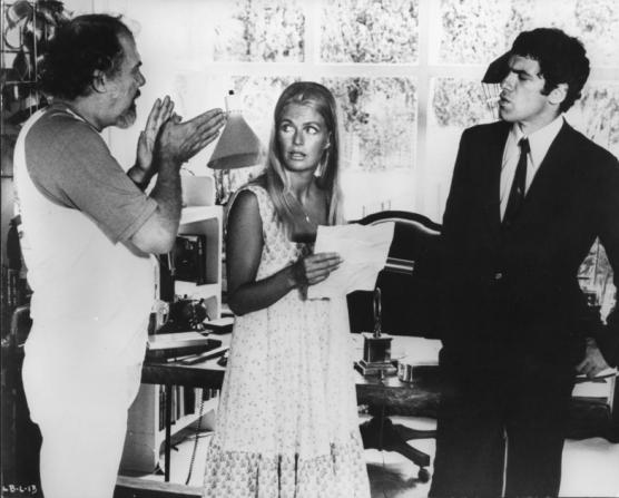 Robert Altman, Elliott Gould, Nina Van Pallandt