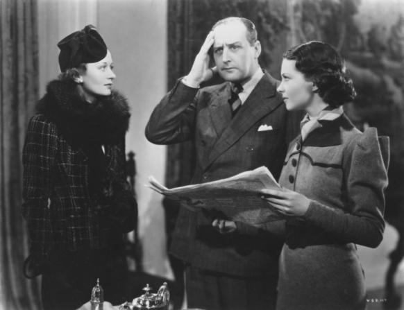 Ursula Jeans, Cecil Parker, Vivien Leigh