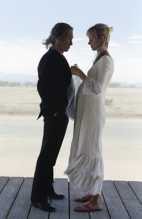 David Carradine, Uma Thurman