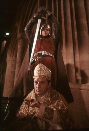 Richard Burton, Percy Herbert