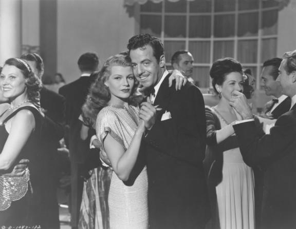 Gerald Mohr, Rita Hayworth