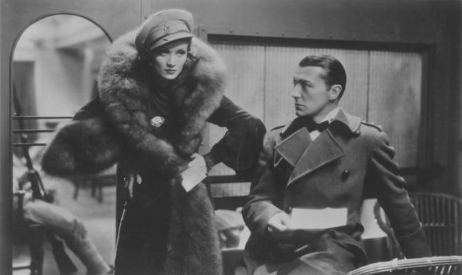 Marlene Dietrich, Clive Brook