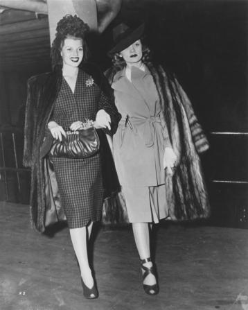Marlene Dietrich, Rita Hayworth
