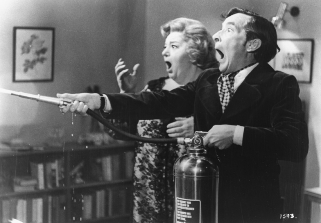 Hattie Jacques, Kenneth Williams