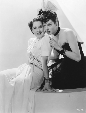 Norma Shearer, Rosalind Russell