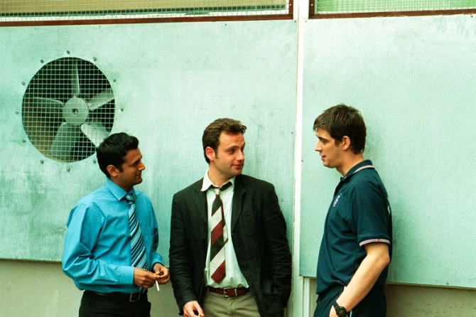 Navin Chowdhry, Andrew Lincoln, Adrian Bower