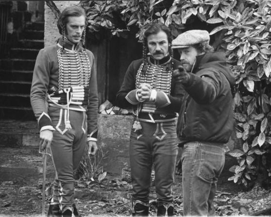 Keith Carradine, Harvey Keitel, Ridley Scott