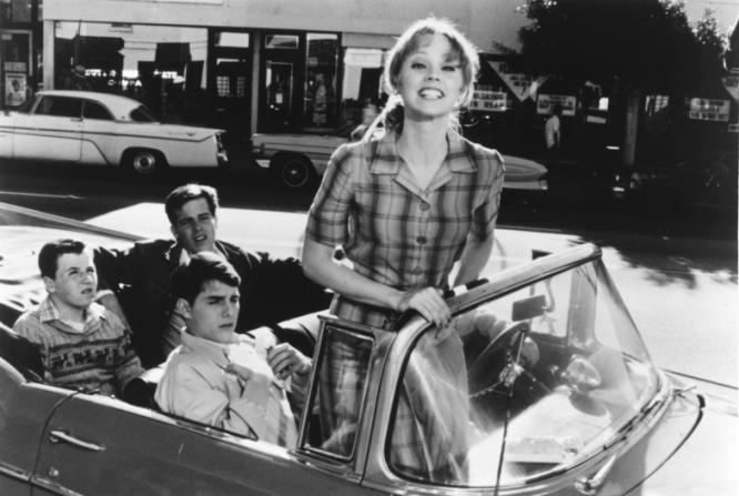 Shelley Long, Tom Cruise, John Stockwell, John P. Navin Jr