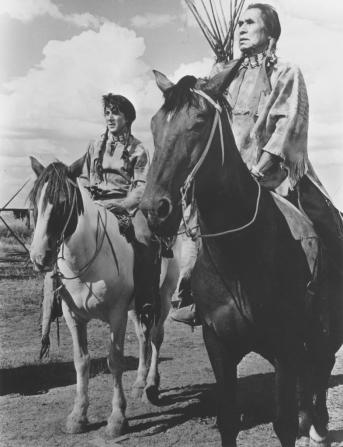 Dustin Hoffman, Chief Dan George