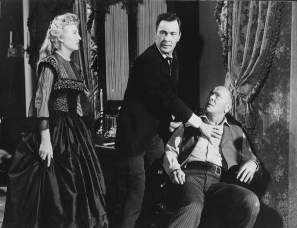 Barbara Stanwyck, Barry Sullivan, Dean Jagger