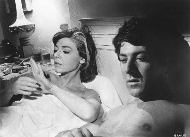 Anne Bancroft, Dustin Hoffman
