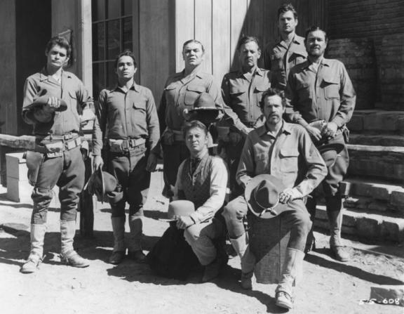 Bo Hopkins, Jaime Sanchez, Ernest Borgnine, William Holden, Warren Oates
