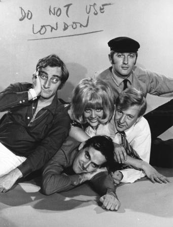 Marty Feldman, Graham Chapman, Tim Brooke-taylor, John Cleese