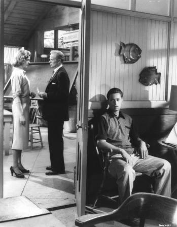 Lauren Bacall, Richard Widmark, John Kerr