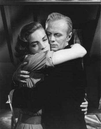 Lauren Bacall, Richard Widmark