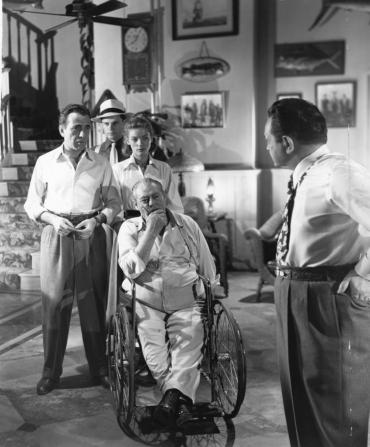 Humphrey Bogart, Lauren Bacall, Edward G. Robinson, Lionel Barrymore