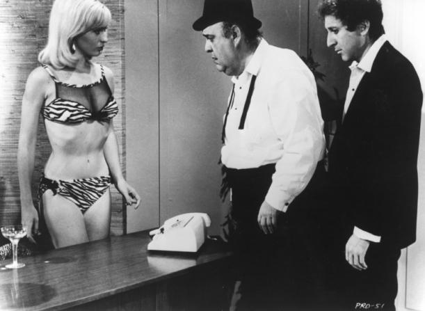 Lee Meredith, Zero Mostel, Gene Wilder