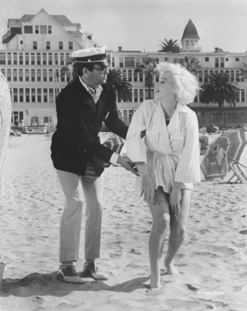 Tony Curtis, Marilyn Monroe