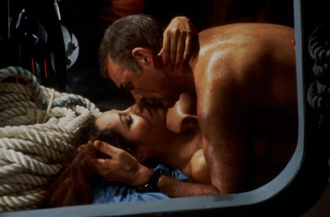Barbara Carrera, Sean Connery