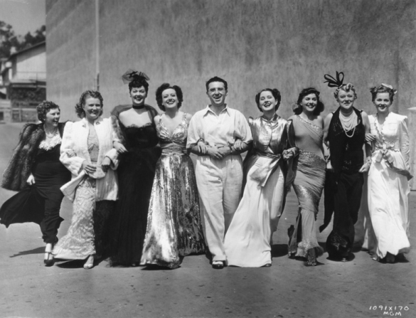 Florence Nash, Phyllis Povah, Rosalind Russell, Joan Crawford, George Cukor, Norma Shearer, Paulette Goddard, Mary Boland, Joan Fontaine