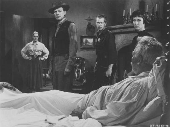 Viveca Lindfors, Joseph Cotten, Bill Williams, Ward Bond