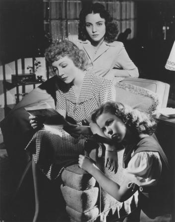 Jennifer Jones, Claudette Colbert, Shirley Temple
