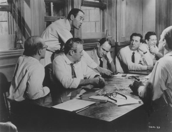 John Fiedler, Lee J. Cobb, Henry Fonda, E.G. Marshall