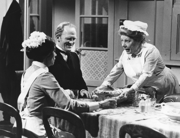 Jean Marsh, Gordon Jackson, Angela Baddeley