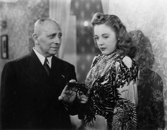 Erich von Stroheim, Mary Beth Hughes