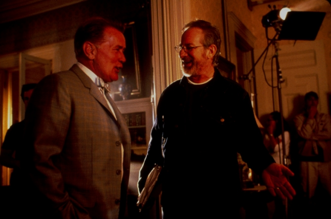 Martin Sheen, Steven Spielberg