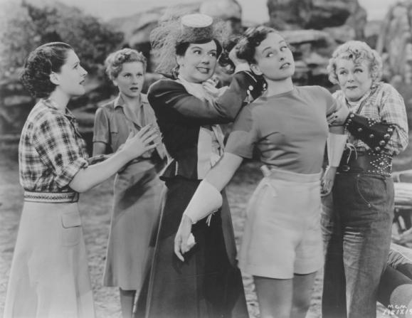 Norma Shearer, Paulette Goddard, Rosalind Russell