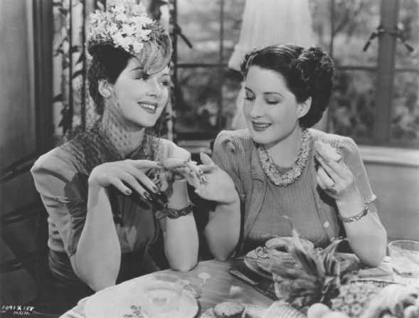 Rosalind Russell, Norma Shearer