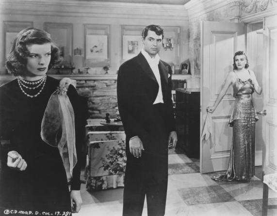 Katharine Hepburn, Cary Grant, Doris Nolan