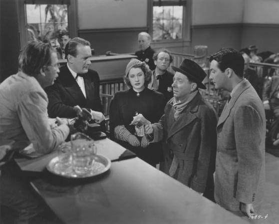 George Sanders, Norma Shearer, Frank Mchugh, Robert Taylor
