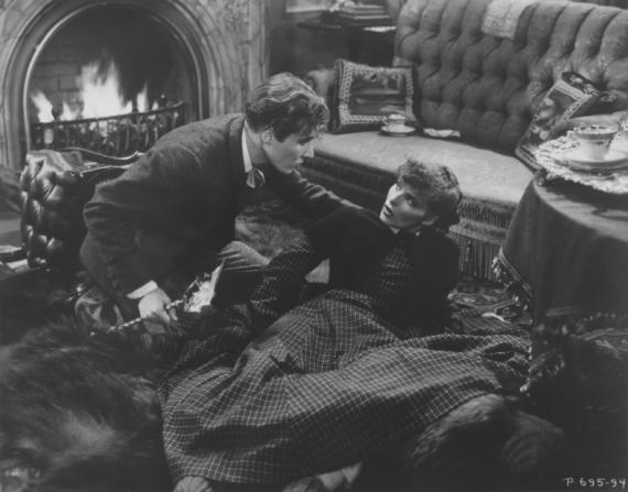 Douglass Montgomery, Katharine Hepburn