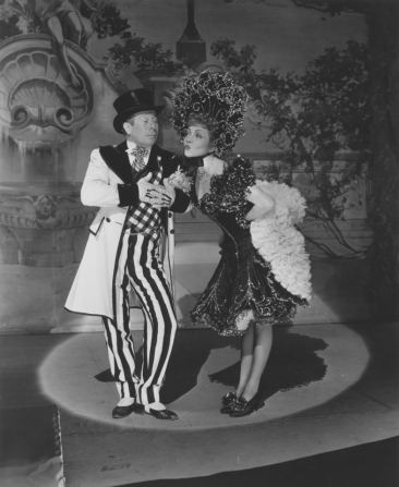 Bert Lahr, Claudette Colbert