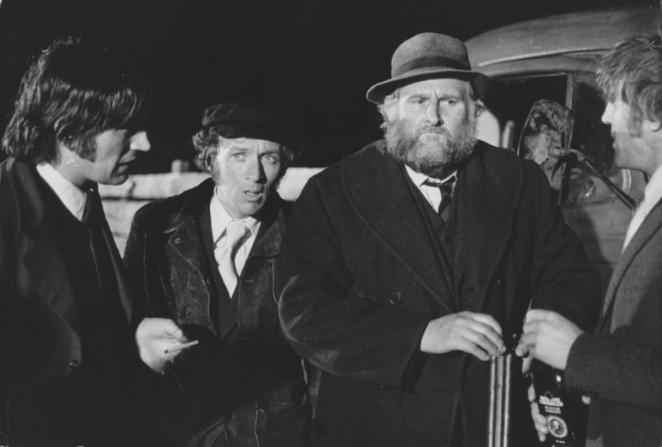 Peter Vaughan, Ken Hutchison, Jim Norton