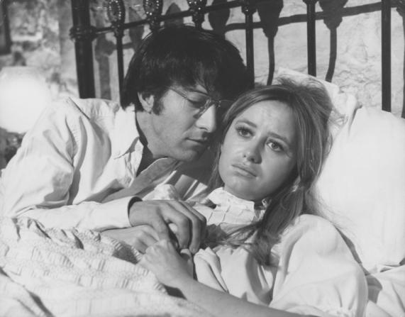 Susan George, Dustin Hoffman