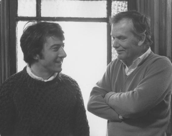 Dustin Hoffman, Sam Peckinpah