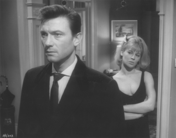 Laurence Harvey, Julie Christie