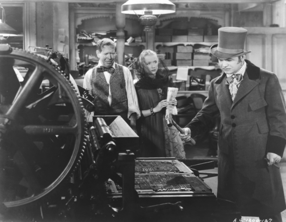 Frank Craven, Miriam Hopkins, Edward G. Robinson