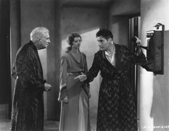 Ronald Colman, Myrna Loy, Alec B. Francis