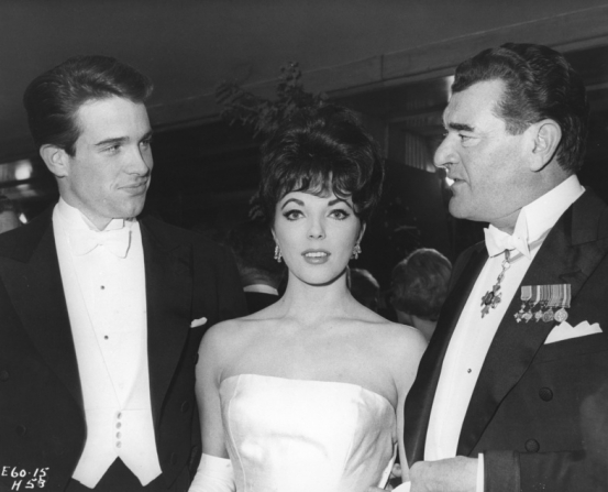 Warren Beatty, Joan Collins, Jack Hawkins