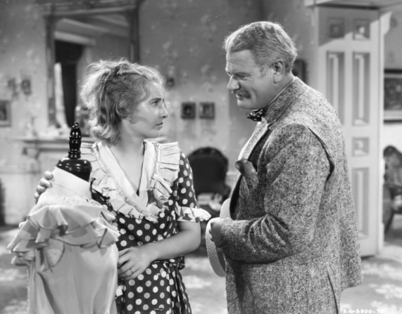 Barbara Stanwyck, Alan Hale
