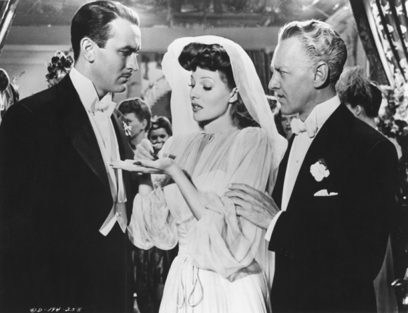 Lee Bowman, Rita Hayworth, Otto Kruger