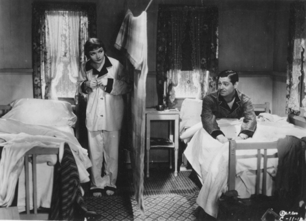 Claudette Colbert, Clark Gable